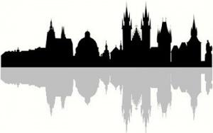 300px-Prague_silhouette